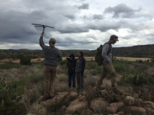 Students and new professionals learn radio telemetry techniques.