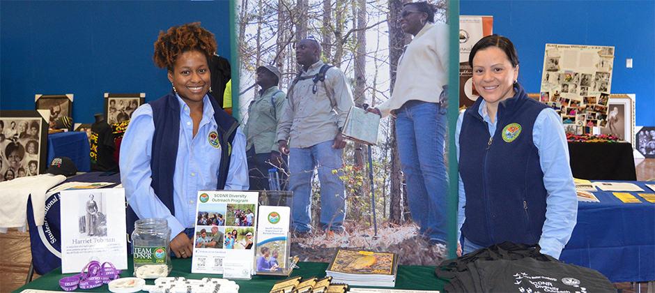 Diversity Award presented to South Carolina DNR outreach program